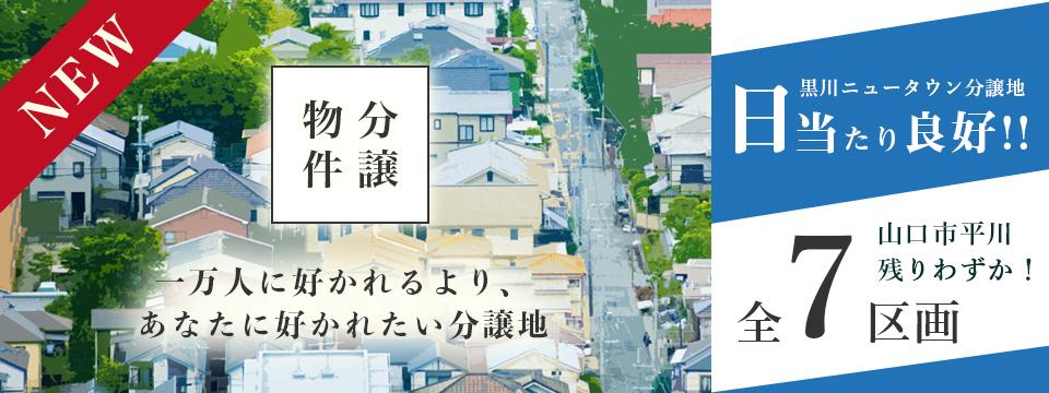 黒川ニュータウン分譲地