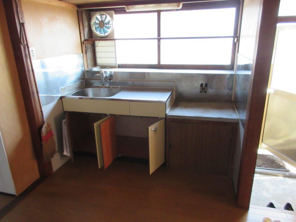 鮎川借家の(キッチン) - 小郡不動産