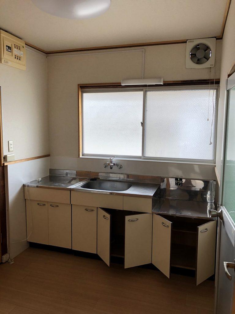 MKアパートの(キッチン) - 山口市の小郡の小郡不動産